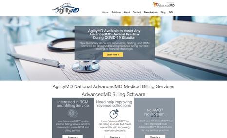 AgilityMD National AdvancedMD Medical Billing AgilityMD provides medical billing and revenue cyc...