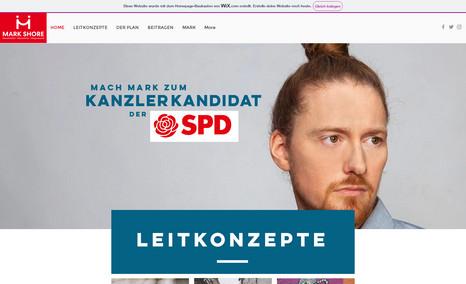 Mark Shore | Kanzlerkandidat der SPD Germany