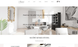 Senses Studio Web presentation of the designer.