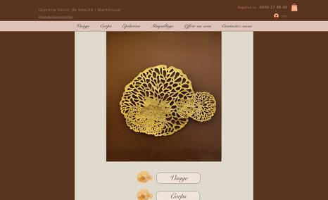 corail-salondebeaute Glyceria est un salon de beauté qui propose en lig...