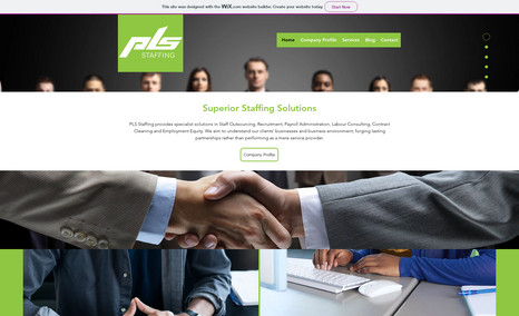 PLS Staffing Staffing Solutions company based in South Africa N...