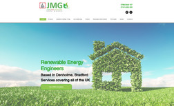 New website for a Eco Engineer company
