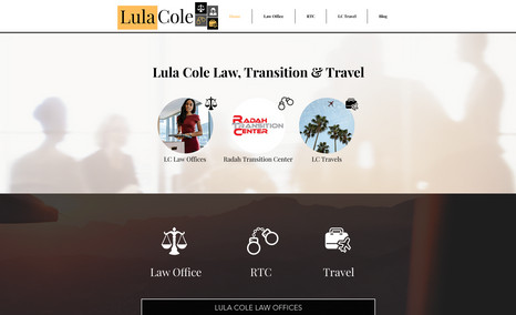 Multi-Business Website This website is for a the Lula Cole brand and it h...