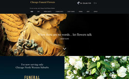 shop e-commerce site for funeral florist