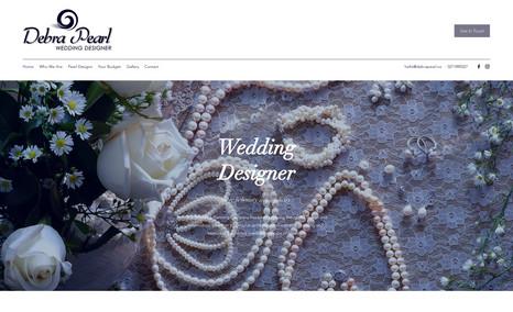 Debra Pearl Website Design, Logo & Branding.
