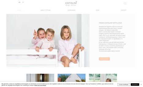 Cotolini Voor de mooiste en zachtste pyjamas!