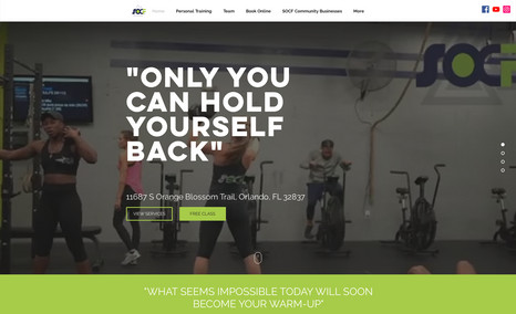 SOCF Fitness Welcome to SOCF Fitness located in Orlando, FL. We...