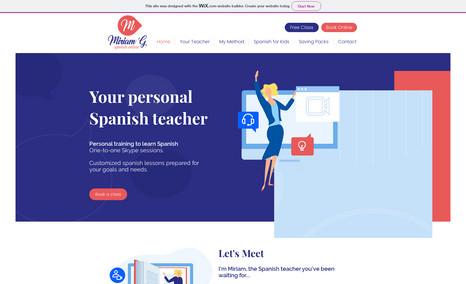 Miriam G Spanish Spanish Classes