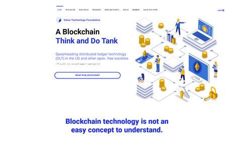 Value Technology Foundation The leading US Block Chain, Think and Do Tank