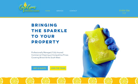 Simple Website Caprigems is a Bristol-based cleaning company owne...