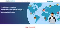 Frumlancers Boutique niche freelancer marketplace, management ...