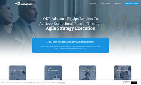 OKR Advisors OKR Advisors is a full-service management consulti...