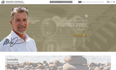 Brian Vaughn Financial Advisor We helped Brian create a personal brand that allow...