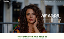 Amanda Ashely Life Website for local therapist in Gainesville, FL