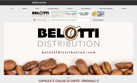 Belotti DIstribution User Experience Pacchetto Assistenza Mensile WIX a...