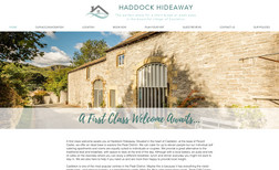 Haddock Hideaway Holiday Accommodation A shiny new website for Emma & Jon to show off the...