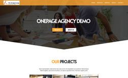 demo4 This design highlights your services, projects, an...