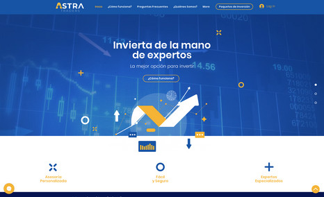 Astra Traders Trading Website
