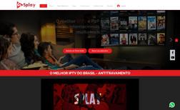 Splay IPTV SEO completo + Layout + Logo