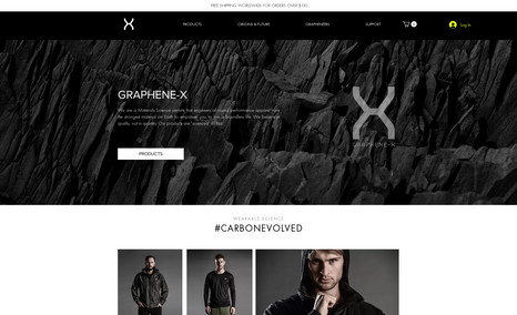 Graphine-X E commerce Web App Development with Corvid and Jav...