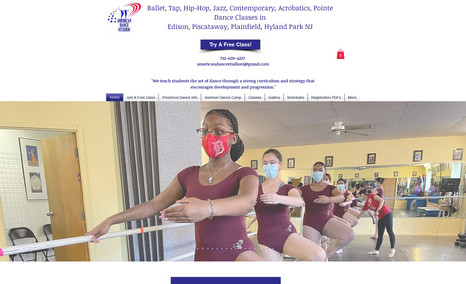 American Dance Studios They offer both online and in person dance classes...