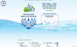Purified Alka Water Advance Database Website Design using Wix Code to ...