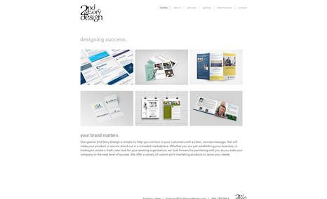 2nd Story Design Graphic Designer - new website, mockup images, web...