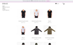 sbaeco Luxury eCommerce Site