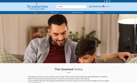 The Unwired Home We call our company The Unwired Home because virtu...