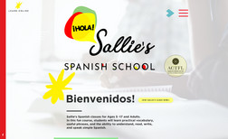 Sallies Spanish School Sallies Spanish classes for Ages 5 -17 and Adults....