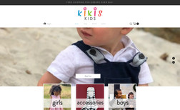 Kiki's Kids Kiki's Kids is a boutique children's clothing stor...