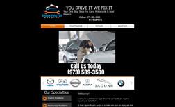 Brain Master Repairs Classic Website for Auto Shop.