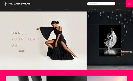 Ms. Dancewear Fashion & Apparel Online Store