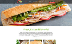 THH Sandwiches We developed the THH website to provide customers ...