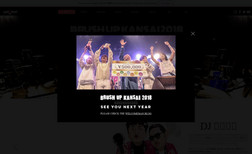 BRUSH UP KANSAI 音楽フェスの詳細サイトです。イベント制作、ECサイト、チケット販売など複合したアプリケーションで制作...