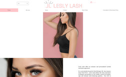 LeslyLash.com Lesly Lash is 100% Female Owned and Operated Eyela...