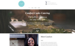 Comfort Cooks Catering A local chef starting out with her own catering co...