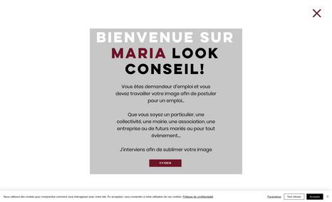 maria-look-paris site de conseil en image sur Paris