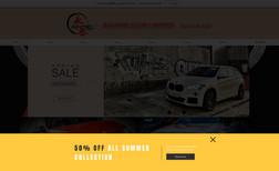 racingclub Website design for Hong Kong car repairing company...