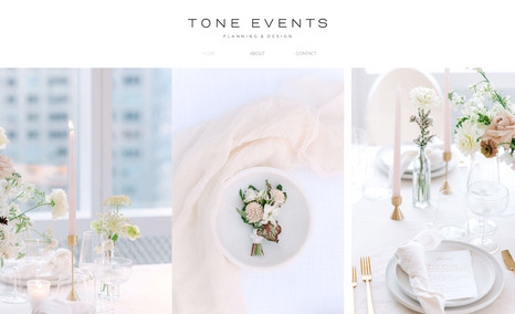 Katie Malfettone: Event Planner An exemplary resume site on Editor X  💐