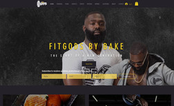 Fit Gods A fitness website with an online store, membership...