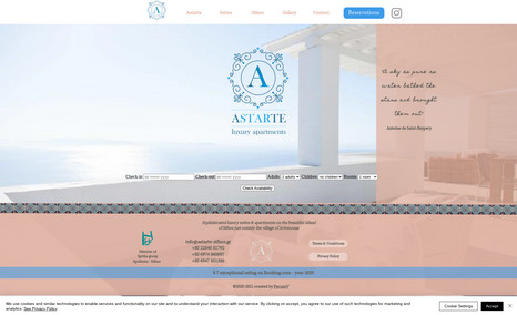 Astarte Sifnos This website shows a beautiful bungalow complex on...