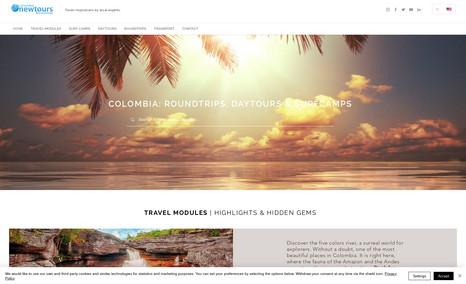 Newtours Colombia ROUNDTRIPS, DAYTOURS & SURFCAMPS