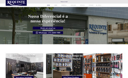 Requinte Fechaduras Site institucional / Vitrine de loja de fechaduras