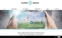 Planet Useful Small brochure style website for Planet Useful - F...