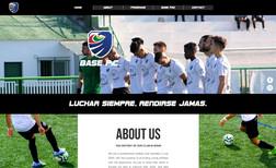 base-espanha Site para Clube de Futebol Espanhol Captar Jogador...