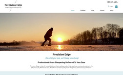 Precision Edge Winebrenner Designs redesigned the website, implem...