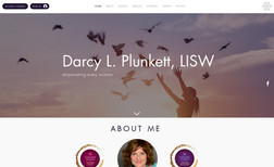 Darcy Plunkett LISW Therapy and coaching website