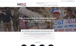Hero Raise Free fundraising for American Heroes that go strai...