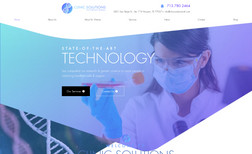 Clinic Solutions International Website Design and Corporate Branding for Clinic S...